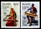 miniature Islande 585 / 86 Europa / Année européenne de la musique