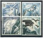 miniature MONACO ( AERIEN ) : Y&T N° 55/58 TIMBRES NEUFS  MNH , COTE  572.00  EUROS .