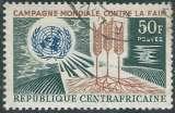 Centrafrique - Y&T 0060 (o) - Campagne mondiale contre la faim -