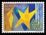 miniature Luxembourg - Y&T 1255 ** neuf - Marché Unique Européen - année 1992