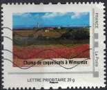 miniature France Oblitéré Used Mon Timbre à Moi Champ de Coquelicots à Wimereux Pas de Calais SU
