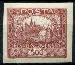 miniature TCHECOSLOVAQUIE  _   Y & T  :  N°   25  * -  Cote  :   4,50  €