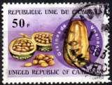 miniature 2372N - Y&T n° 655 - oblitéré - Graines de voacanga - 1980 - Cameroun
