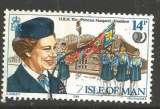 miniature Man 1985 - YT n° 269 - Princesse Margaret, président de l'Association des Guides