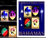 miniature Bahamas 298 / 01 + Bf 3 Noël 1972