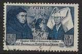 miniature FRANCE 1943 YT 583c oblitéré - 500ans Hôtel-Dieu de Beaune