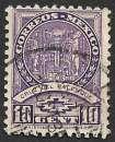 miniature Mexique 1934-36 Y&T 506 oblitéré - Croix de Palenque