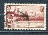 miniature 1938 FRANCE LE CHATEAU DES PAPES A AVIGNON OBLITERE