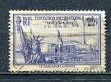 miniature 1939 FRANCE  LA STATUE DE LA LIBERTE 2F25 OUTREMER OBLITERE