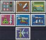 miniature Allemagne RFA 1965 - Exposition des Transports ( Mi 468/74 - YT 335... ) MNH**