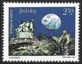 Pologne - Y&T 1790 ** Homme marchant sur la lune - année 1969
