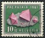 SUISSE 1961 OBLITERE  N° 678