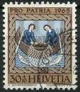 SUISSE 1965 OBLITERE  N° 750