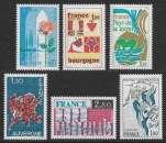 miniature FRANCE 1975 Y&T 1847 , 1848 , 1849 , 1850 , 1851 , 1852 Neufs ** - Série des régions