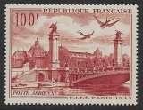 miniature FRANCE 1949 YT PA28 Neuf ** - Poste aérienne , CITT , Les Ponts de Paris