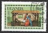 Ouganda 1983 Y&T 330 oblitéré - Noel - La Nativité