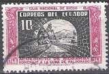 miniature Ecuador 1948 Michel 699 O Cote (2005) 0.20 Euro Pont-aqueduc de Riobamba Cachet rond