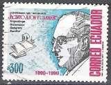 miniature Ecuador 1991 Michel 2202 O Cote (2005) 0.60 Euro Archéologue Jacinto Jijón y Caamaño