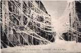 miniature NARBONNE LE CYCLONE DU 20 DECEMBRE 1920 PLACE DE LA MAIRIE TBE