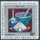 miniature Rwanda - Y&T 0379 (**) - Découverte de la quinine -