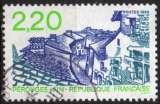 miniature B833N - Y&T n° 2550 - oblitéré - Pérouges - 1988 - France