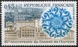 miniature B843N - Y&T n° 1792 - neuf sans charnière - 25 ans du conseil de l'Europe - 1974 - France