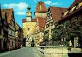 miniature ROTHENBURG ob der Tauber : La tour St Marc