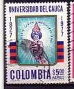 miniature Colombie 1977  Y&T  PA 619  oblitéré