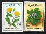 miniature Maroc 1986  Y&T  1008-1009  N**