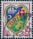 miniature France - Y&T 1195 (o) - Cancelled - used