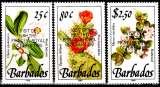 miniature Barbades 797 / 99 Fleurs surchargés Visite Princesse