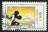 France 2018 - Mickey - Libre comme l'air - Oblitéré.