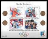 miniature Norvège - Y&T Bloc 11 - Jeux Olympiques - Lillehammer - année 1989