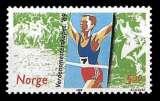 miniature Norvège - Y&T 971 ** - Championnats du monde de cross-country - année 1989