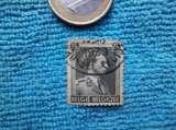 miniature timbre Belge oblitéré 1939