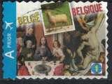 miniature Belgique 2011 Oblitéré Used Art Peintures Jan Van Eyck Bouts et Pierre Paul Rubens SU