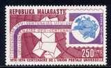 miniature MADAGASCAR - A142** - CENTENAIRE DE L'U.P.U