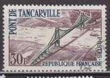miniature France 1959 YT 1215 Obl Pont de Tancarville
