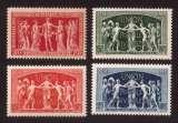 miniature France 1949  Y&T 849 à 852 ** chambre de commerce et 75e anniversaire de l'UPU  cote 2,70€