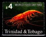 miniature Trinité 482 ( Hors série ) Journée mondiale de l´alimentation / Le seul timbre crustacés