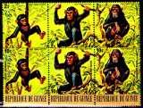 miniature Guinée 607 / 09 + Pa 125 / 27 ( Hors série ) Faune à protéger / Tous les singes