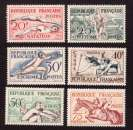 miniature   France 1953  Y&T 960 à 965 ** JO d'Helsinki 1952  cote 90,00€