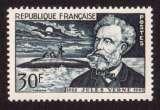 miniature France 1955 Y&T 1026 ** cinquantenaire de la mort de Jules Verne 30 F cote 9,00€