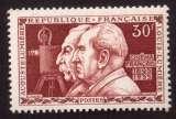 miniature France 1955 Y&T 1033 ** les frères Lumière 30 F cote 7,50€