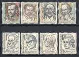 miniature Tchecoslovaquie Y & T N° 2428/35**   Anniversaires naissance de personnages célébres