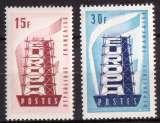 miniature France 1956 Y&T 1076 - 1077 ** Europa 12 F et 30 F cote 8,45€