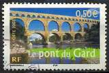 miniature FRANCE  PONT DU GARD   Y.T. N° 3604   OBLITERE