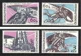 miniature TCHECOSLOVAQUIE 1965 N° 1395 à 1398 * *  Neufs. Réf. 12934