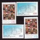 miniature France 1994-1996  conseil  de l'Europe Y&T 112 - 113 - 116  - 117 **   cote 10,50€
