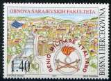 miniature BOSNIE-HERZEGOVINE  _  Y & T  :  N°   249  **  -  Cote  :  2,25  €